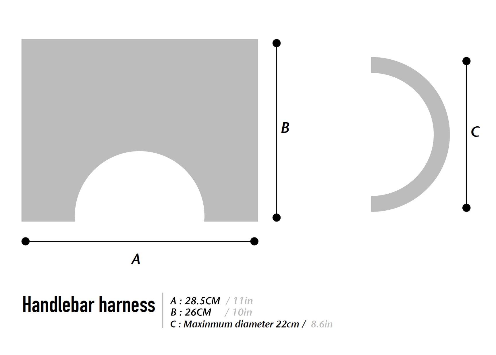 WOHO XTOURING handlebar HARNESS